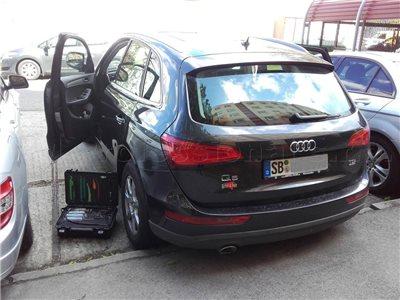 Zabuchnuté kľúče Audi